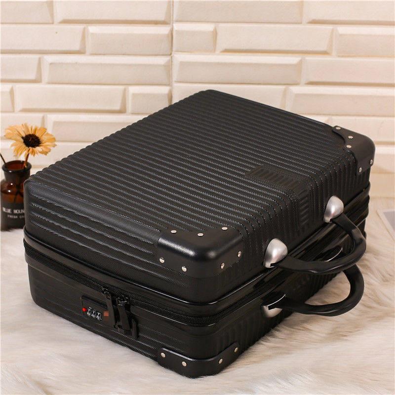 กระเป๋า กระเป๋า ผู้หญิง กระเป๋าเดินทางกระเป๋าเครื่องสำอาง 14 นิ้วกล่องใส่เครื่องสำอางขนาดเล็ก 16 กระเป๋าเดินทางมินิกล่อง