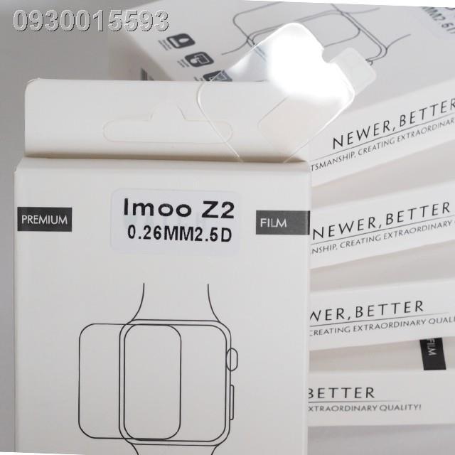 ฟิล์มกระจก IMOO Z2 (ตรงรุ่น-ไม่เต็มจอ-เว้นกล้อง) (รุ่นเทียบ-เต็มจอ-ทับกล้อง) Z3 Z5 Z6 นาฬิกาโทรศัพท์ไอมู่ ไอโม่ ไอโม