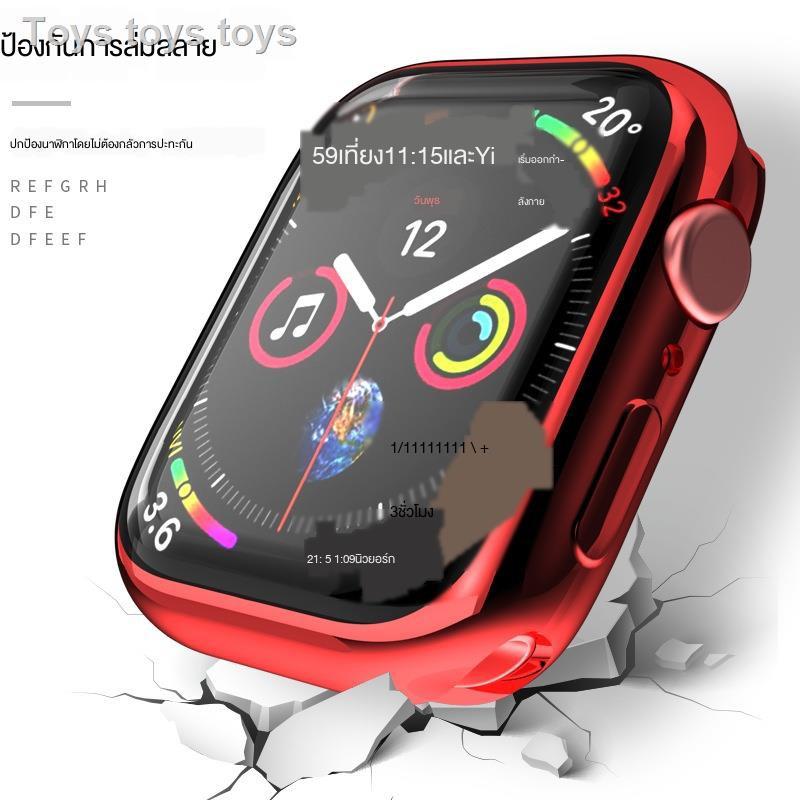 เคสAirPods1/2 Case เคสยางซิลิโคนการ์ตูน เคสซิลิโคนอ่อนนุ่มสำหรับApple Watch 1/2/3/4/5/6 generation protective shell iwatch se electroplating soft cover all-inclusive film applewatch2 frame water condensation 44/42/40/38mm