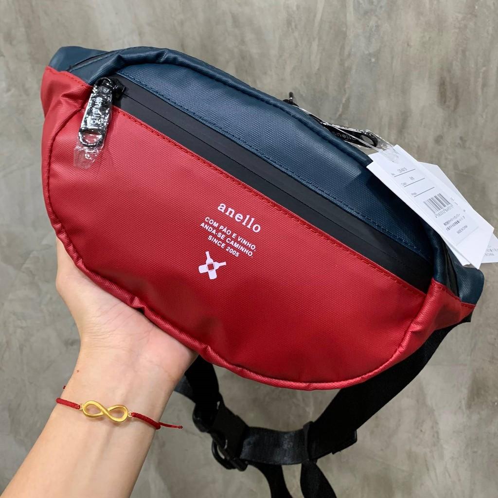 Anello REG W-Proof Waistbag_OS-N019 กระเป๋าคาดเอวกันน้ำ 100% ดีไซน์สุดเท่เหมาะกับทุกไลฟ์สไตล์