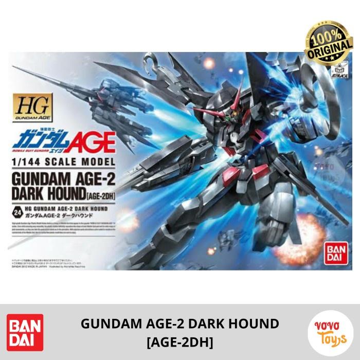 Bandai HG Age Gundam 1 / 144 รองเท้าผ้าใบลําลอง 2 ชิ้นสีเข้ม