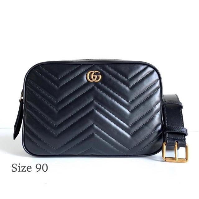 Gucci marmont belt bag พร้อมส่ง ของแท้100%【การจัดซื้อ】