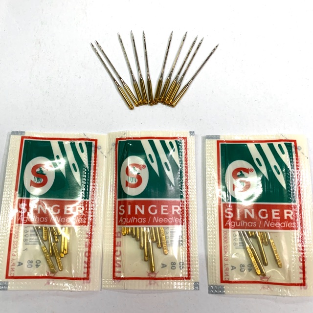 Singer ซิงเกอร์ เข็มจักรทอง แท้ ยี่ห้อซิงเกอร์
