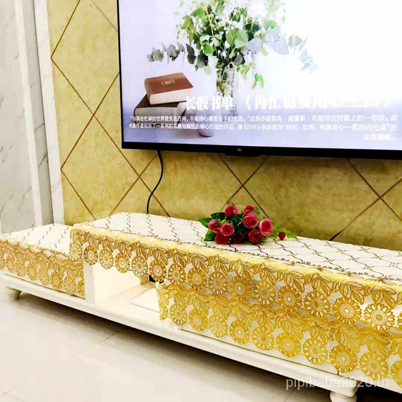 Nordic INS Wind Waterproof Floral Tablecloth Anti-Dust Coffee Table CoverPVCบรอนซ์กันน้ำล้างฟรีตู้ทีวีผ้าปูโต๊ะโต๊ะน้ำชาข้างเตียงผ้าคลุมโต๊ะตู้รองเท้าผ้าคลุมโต๊ะสี่เหลี่ยมผ้าปูโต๊ะ