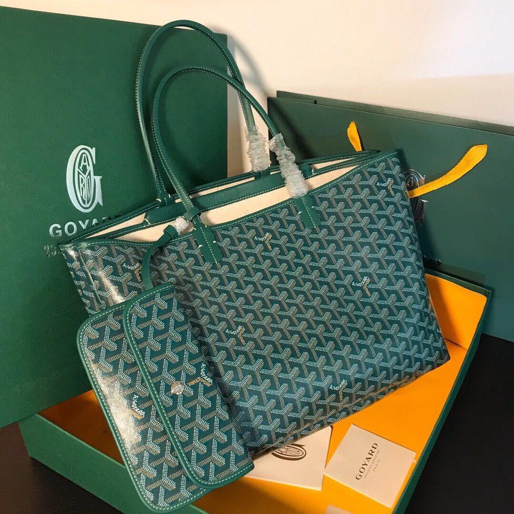 Goyard tote bag newกระเป๋าถือกระเป๋าแฟชั่นกระเป๋าสะพายข้าง แบรนด์เนน กระเป๋าหิ้ว