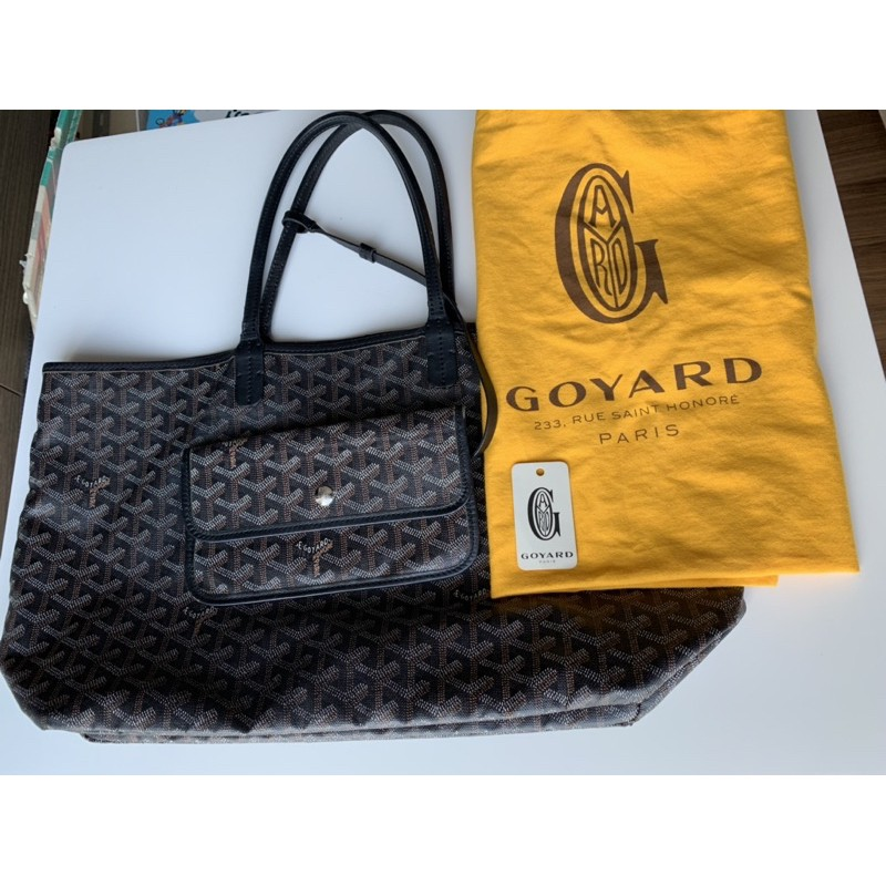 Goyard St. Louis PM Used กระเป๋า Goyard มือสอง สภาพสวย