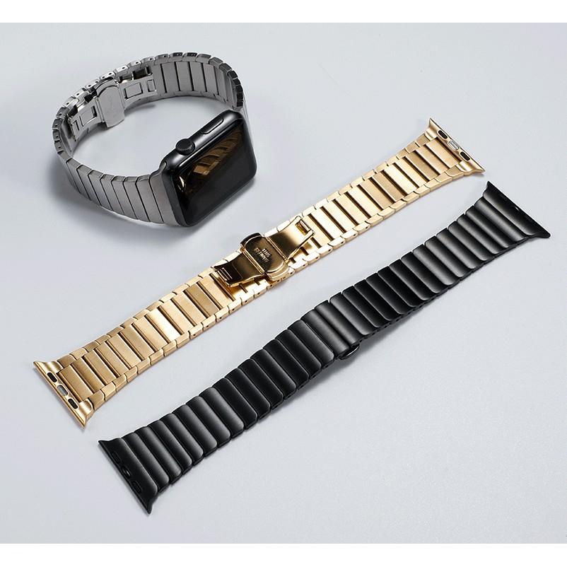 DZI1 Luxury สายนาฬิกา Apple Watch เหล็กกล้าไร้สนิม สาย Applewatch Series 6 5 4 3 2 1,Apple Watch SE size 38mm 40mm 42mm