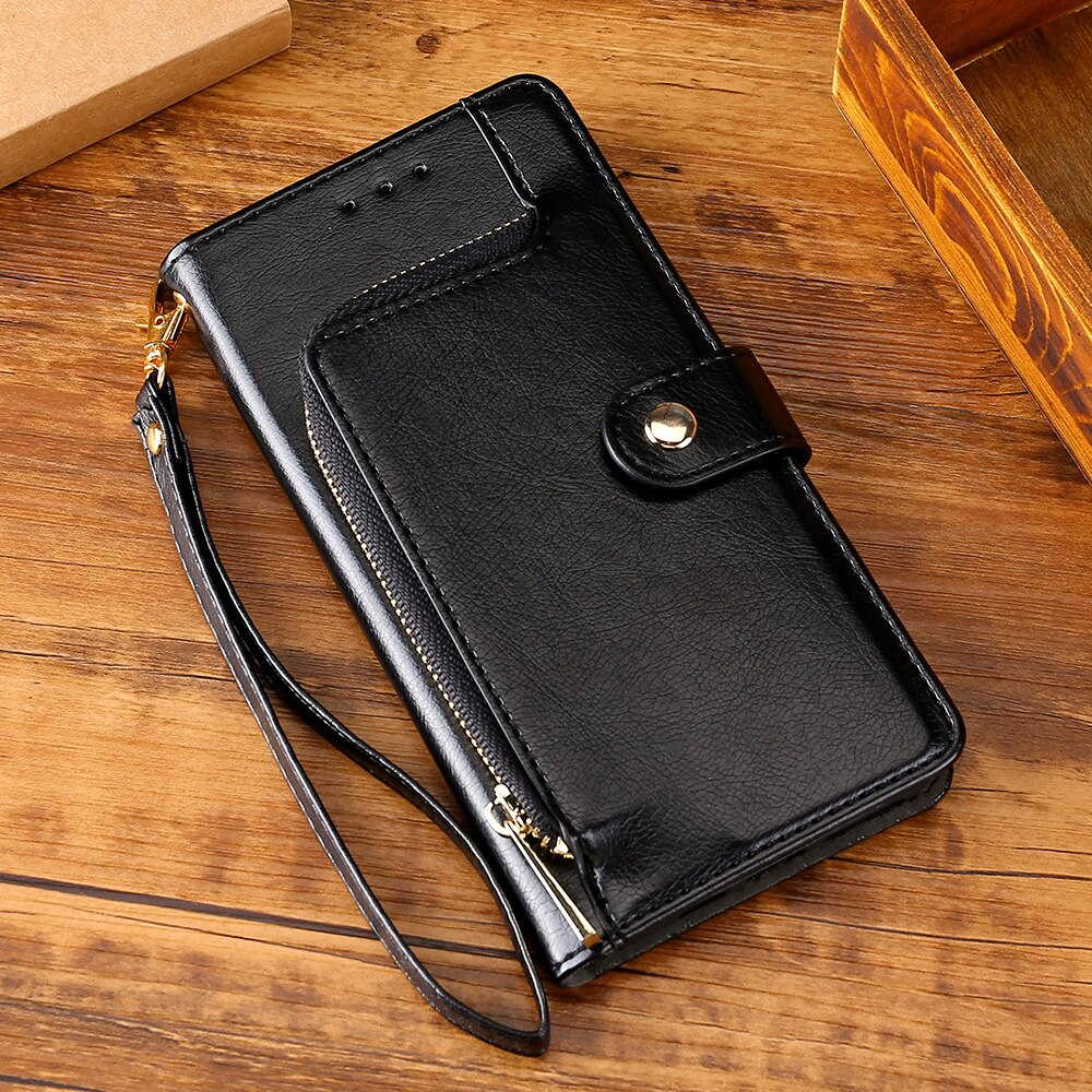 Leather Wallet Phone Case For Samsung J3 J4 J5 J6 J2 Pro Prime A5 A7 A8 A6 Plus A9 2018 2017 2016 Flip Cover Stand Bag