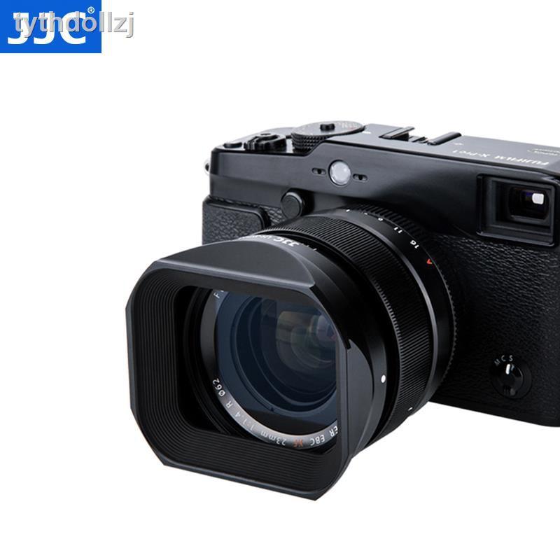 ราคาถูก♠✷JJC เลนส์ฮูดเหมาะสำหรับเลนส์ Fuji XF23mmF1.4 XF56F1.2R APD โฟกัสคงที่ XT30 XH1 XT4 X-T4 กล้อง 62 มม.
