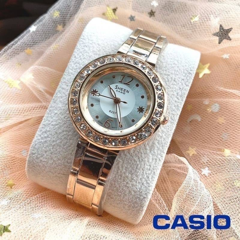 นาฬิกา CASIO สายสแตนเลส (หญิง)