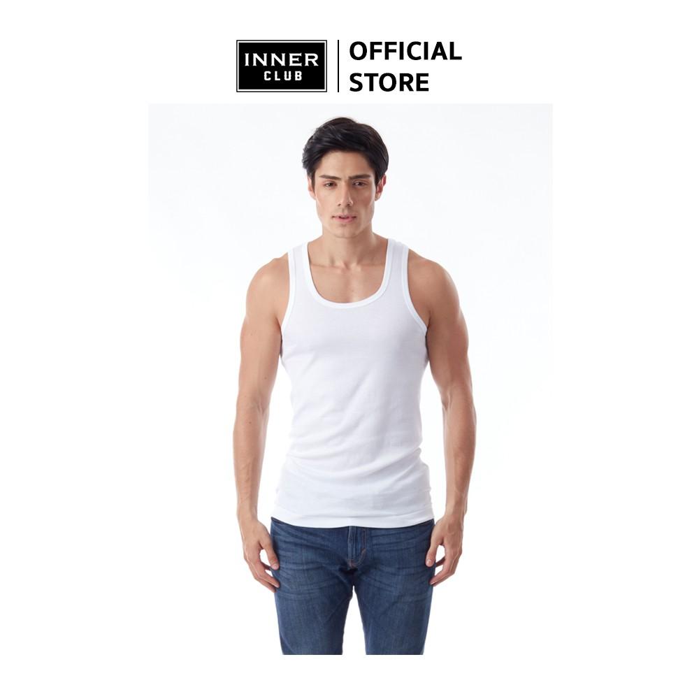 Inner Club เสื้อกล้าม ผู้ชาย สีขาว (แพค 1 ตัว)
