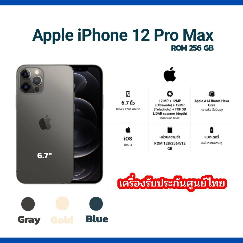 Apple iPhone 12 Pro Max  256 GB