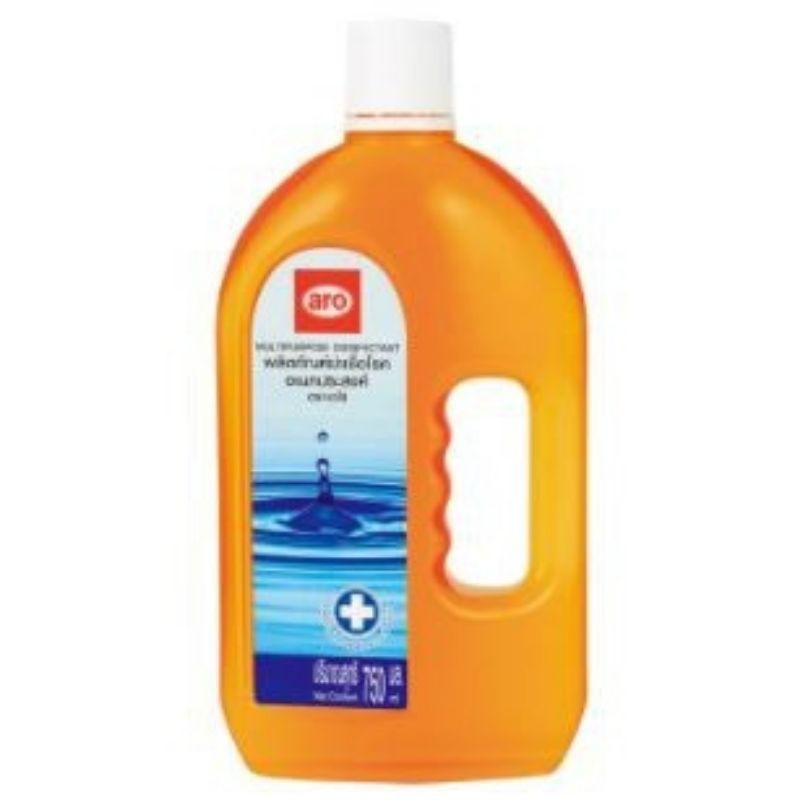 เดทตอล dettol เจลล้างมือ น้ํายาฆ่าเชื้อ dettol น้ำยาฆ่าเชื้อเอโร่ aro (มีตัวยาเดียวกับมงกุฎ) Multipurpose disinfec