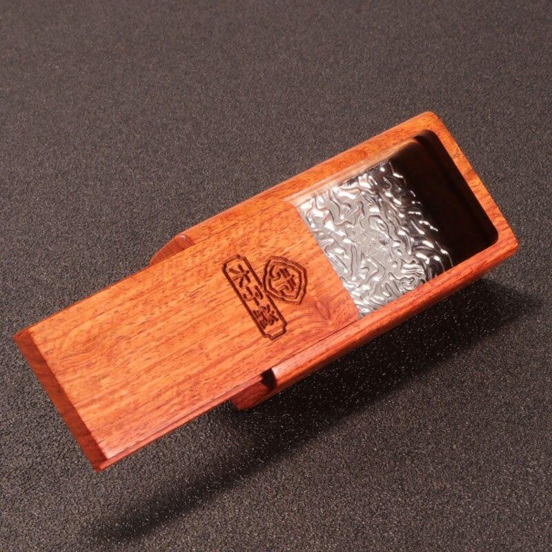 All Wood Portable And Creative Mini Ashtray With Cover Of Mahogany Cigarette Holder Box