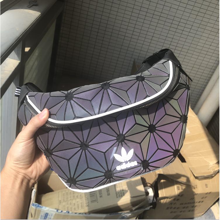 =Hot= ADIDAS Chest Bag Sling Crossbody Bag Sport Waist Bag Issey Miyake Fashion Shoulder Bag