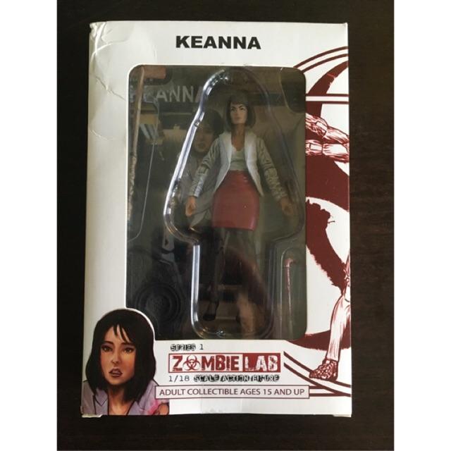 Zombie Lab Action Figure 1:18, Keanna