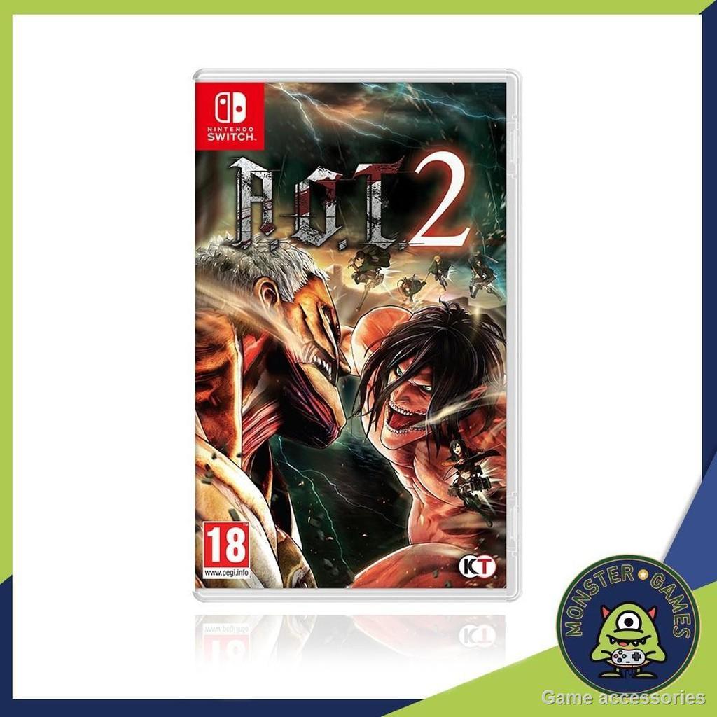 🚦เกม Nintendo🚦Attack on Titan 2 (AOT 2) Nintendo Switch game (เกมส์ Switch)(ตลับเกมส์Switch)(แผ่นเกมส์Switch)(ตลับเกม