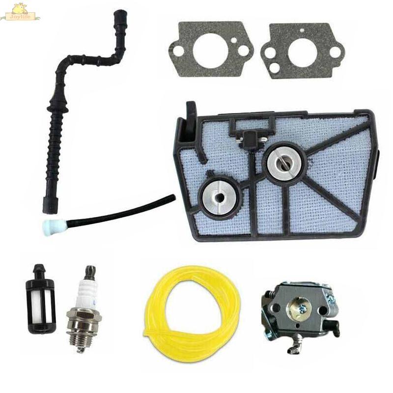 Carburetor Kit Air Filter Fuel Line Spark Plug Chainsaw Tool Vent For Stihl 028AV 028WB 028 Super 028AVSEQ 028AVSEQW