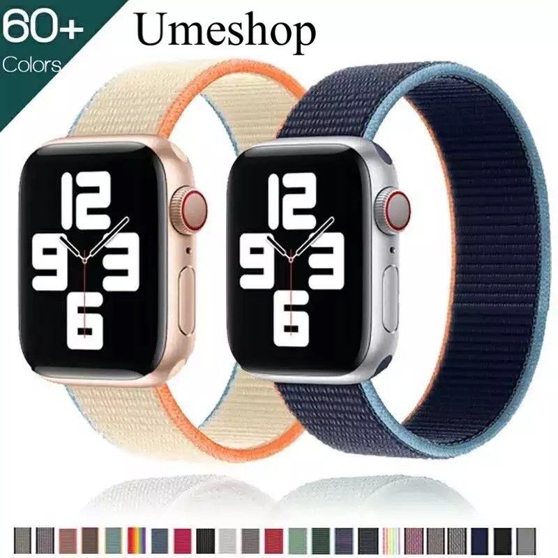 พร้อมส่งจากไทย!สายนาฬิกาข้อมือสำหรับ Apple Watch Se 42 มม. 38 มม. 40 มม. 44 มม. Series6 5 4 3 2 1 สายสำหรับapplewatch