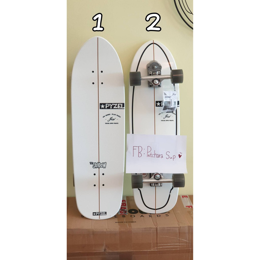 """Surfskate YOW Shadow S5 34"""" PYZEL"""