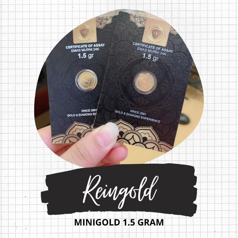 (rg) ราคาถูกที่สุด 1.5 กรัมกรัมมินิทองที่สุด