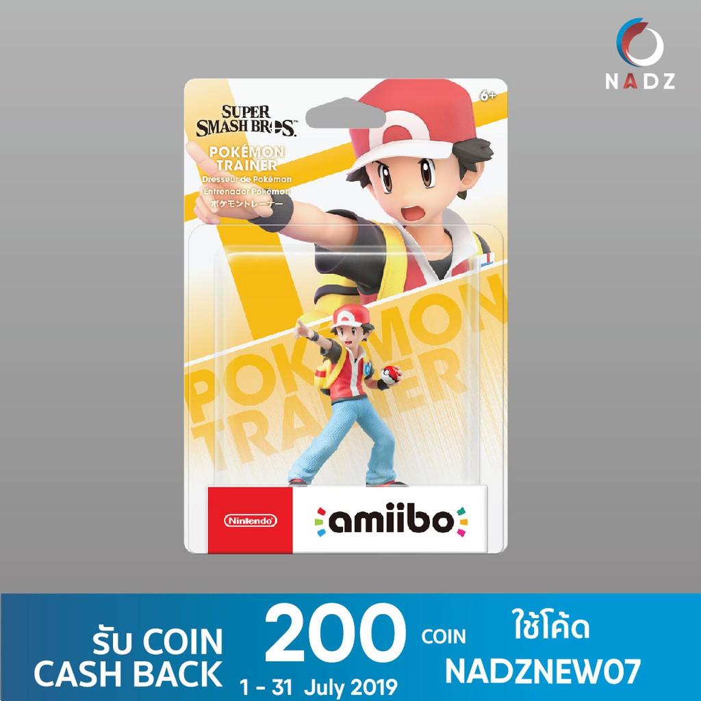 Nintendo : AMIIBO SUPER SMASH BROS  SERIES FIGURE (POKÉMON TRAINER)