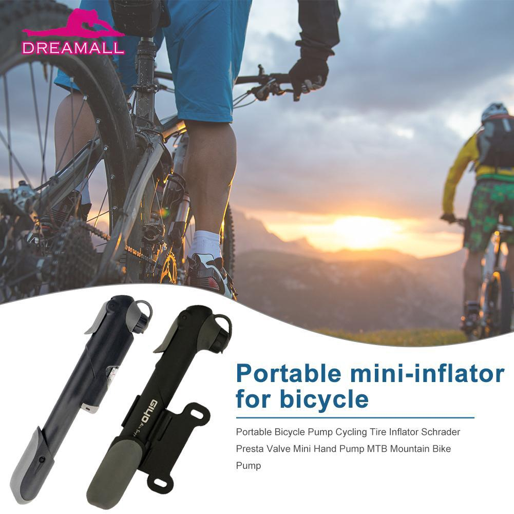 Presta Valve Cycling Bike Air Pump Bicycle Tyre Inflator Bike Pump Hand Pump