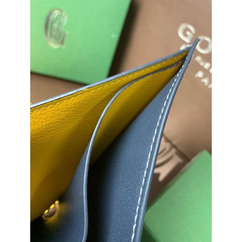 🌈Goyard wallet top ออริ 📌size 11 cm. หนังแท้