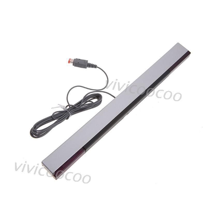 VIVI New Practical Wired Sensor Receiving Bar For Nintendo Wii / Wii U
