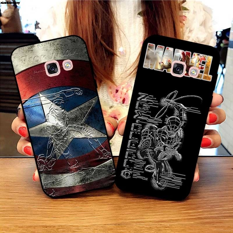 Samsung A3 A5 A6 A7 A8 A9 Pro Star Plus 2015 2016 2017 2018 HMWRO Pattern-3 Silicon Case Cover