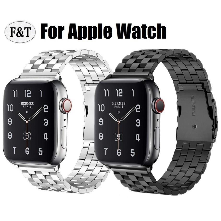 สาย apple watch stainless steel เรียบหรู ใส่ได้ทุกซีรีย์ สาย applewatch Series 6 5 4 3 2 1,Apple Watch SE สายนาฬิกา applewatch