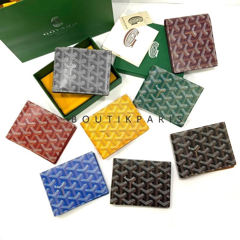 สต๊อคพร้อมส่ง New Goyard 8 Cards Short Wallet กระเป๋าสตางค์กอยาร์ดใบสั้น