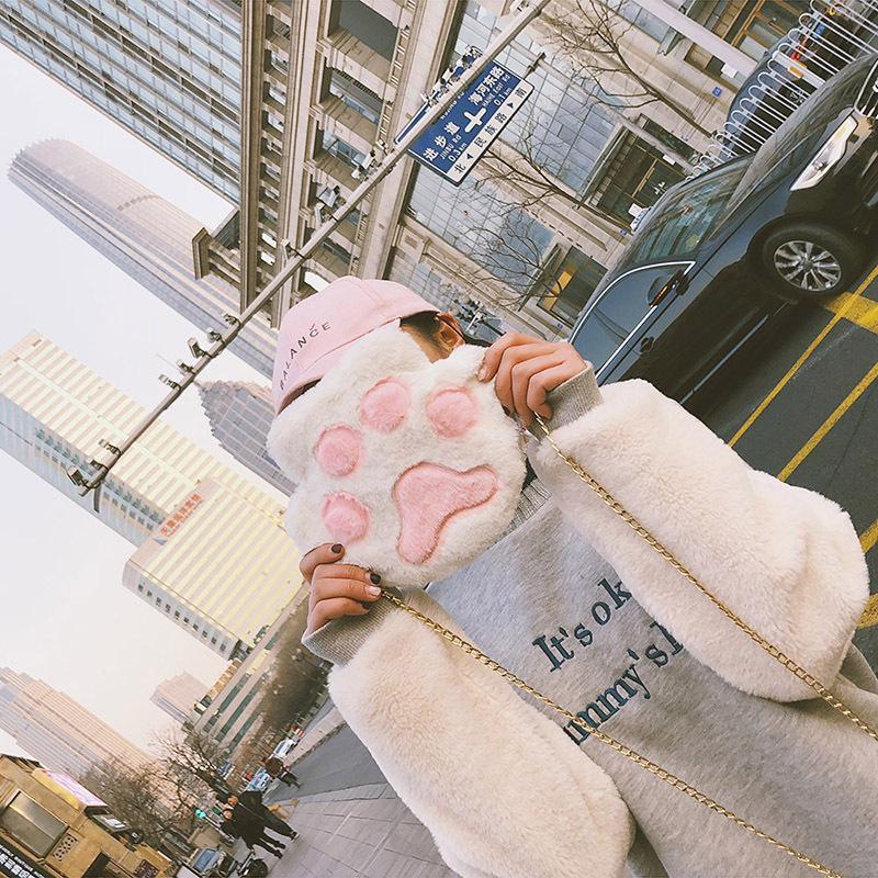 กระเป๋าสะพายไหล่ลายการ์ตูนหมีน่ารักญี่ปุ่น anello กระเป๋าสะพายข้าง coach พอ กระเป๋า sanrio gucci marmont gucci dionysus