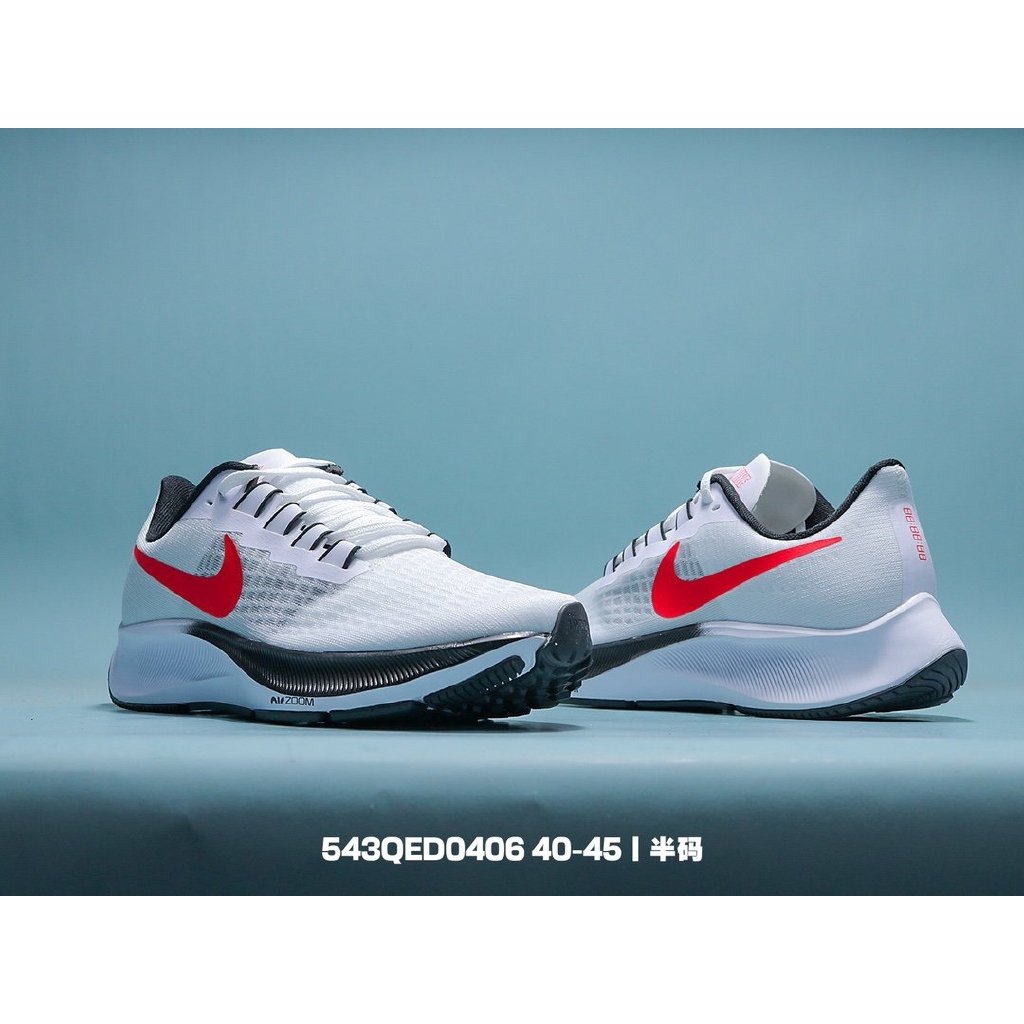 Metropolitano Convencional galería  Nike Air Zoom Pegasus 37 generation mesh breathable lightweight casual  running shoes Size: 40-45   Shopee Thailand