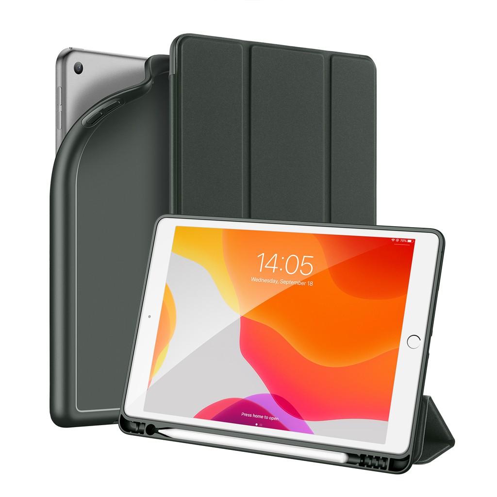 DUX DUCIS Apple iPad 7/ipad 8 10.2 inch case,Foldable bracket With Apple Pencil Holder & Auto Sleep Wake Mmvc
