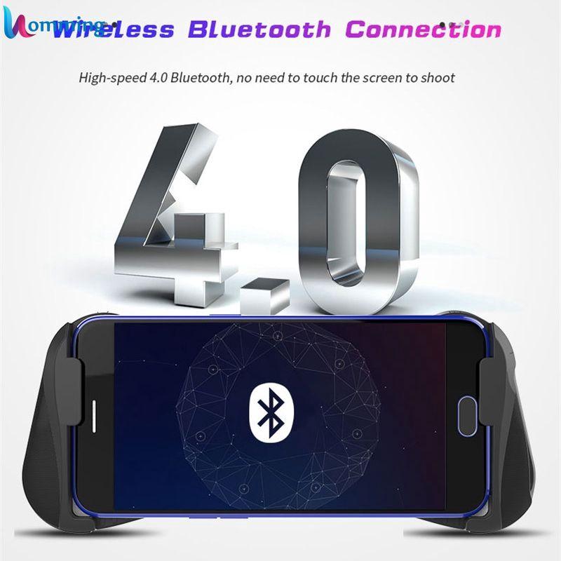 New MOCUTE 057 Bluetooth 4.0 Gamepad PUBG Controller PUBG Mobile Triggers Joystick Wireless Joypad For iPhone XS Homm