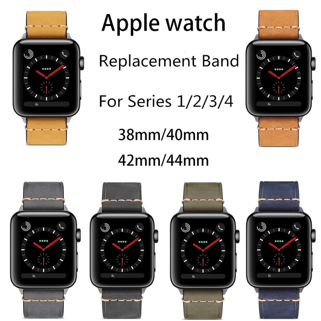 สายนาฬิกาข้อมือ AppleWatch 38 มม. / 40 มม. / 42 มม. สำหรับ Series 1 / 2 / 3 / 4