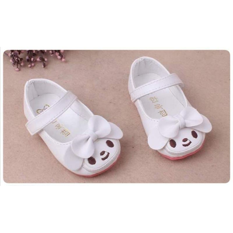 รองเท้าคัชชูนิ่มเด็กเล็กพื้นยาง