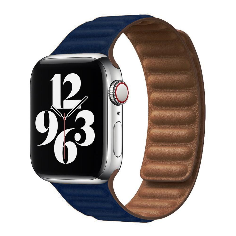 สาย applewatch[Love type] เหมาะสำหรับ applewatch หนังอย่างดี double-circle waist 1-6 generation sejing
