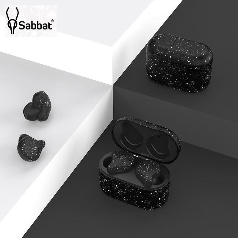 หูฟังบลูทูธไร้สาย sabbat x12 Pro TWS Bluetooth 5 0 black