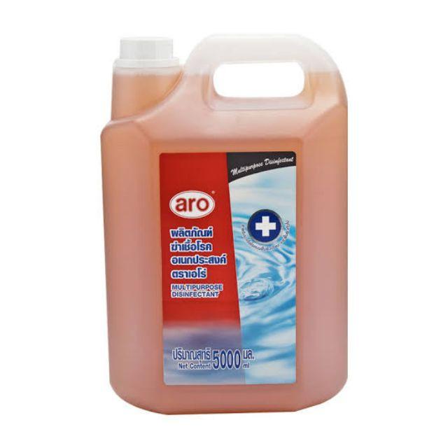 dettol เจลล้างมือ น้ํายาฆ่าเชื้อ dettol เดทตอล ของมาแล้ว5ลิตรน้ำยาฆ่าเชื้อเอโร่ aro (มีตัวยาเดียวกับมงกุฎ) Multipurp