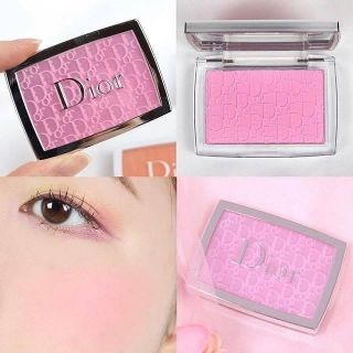 Review Dior Backstage Rosy Glow Blush 4.6 g. 👉 สี 001 pink  DIOR