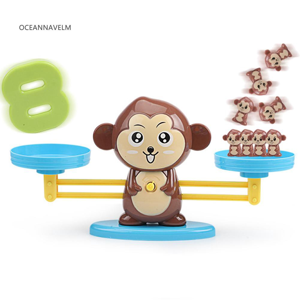 Monkey Balance Math Game Early Learning Child Educational Toy for Kid Child Gift