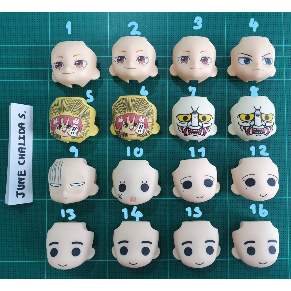 GSC Figure Parts Not include body Nendoroid More Face Swap 01/&02 Selection