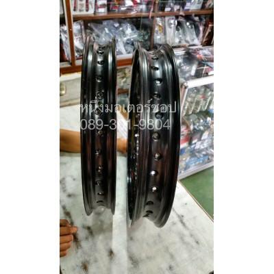 วงล้ออลูมิเนียม US Racing Boy 1.85-17 2.15-17 2.50-17 185-18 2.15-18 1.60-16 140-14 สีดำ สีทอง สีเงิน Aluminum alloy Rim