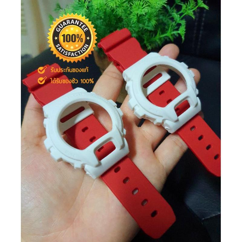 สาย applewatch แท้ สาย applewatch กรอบสายG-shock DW6900แท้ 100%