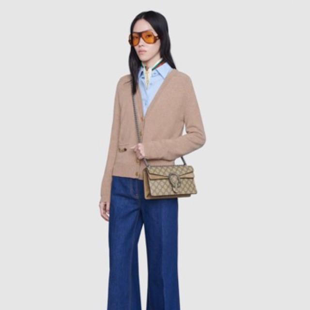 [สินค้าแบรนด์]Gucci Dionysus GG กระเป๋าสะพาย 25 ซม. พร้อมกล่อง Cod