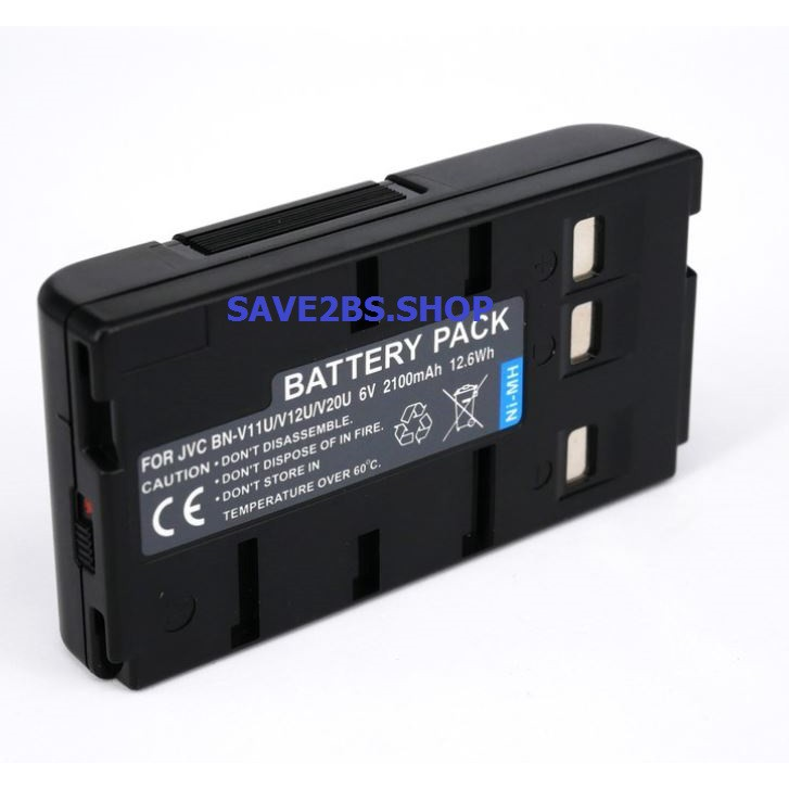 GR-AX5 BN-V20U GR-AX46U BN-V20US GR-AX500 Battery P//N BN-V20 2100mAh Replacement for JVC GR-AX430U GR-AX47U