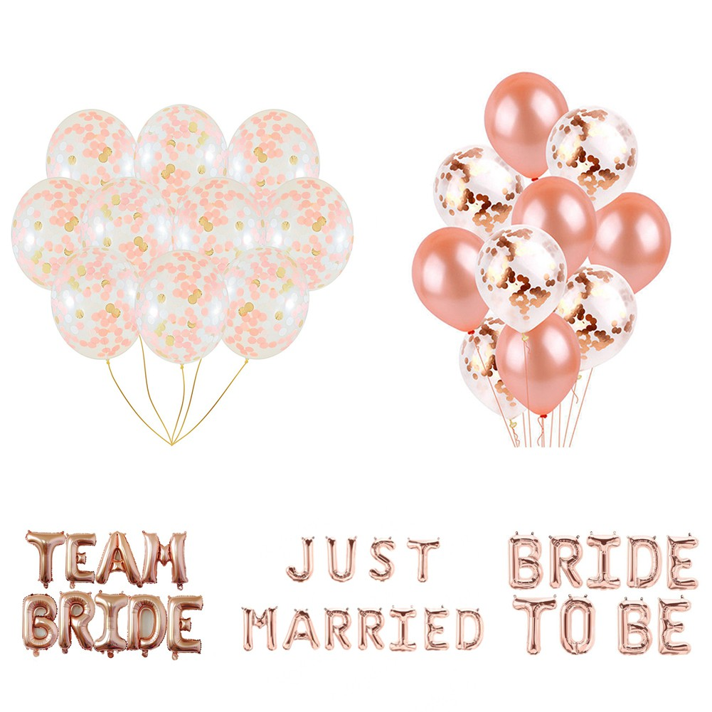 "30 JUST MARRIED DARK PINK 12/"" HELIUM QUALITY PEARLISED WEDDING BALLOONS"