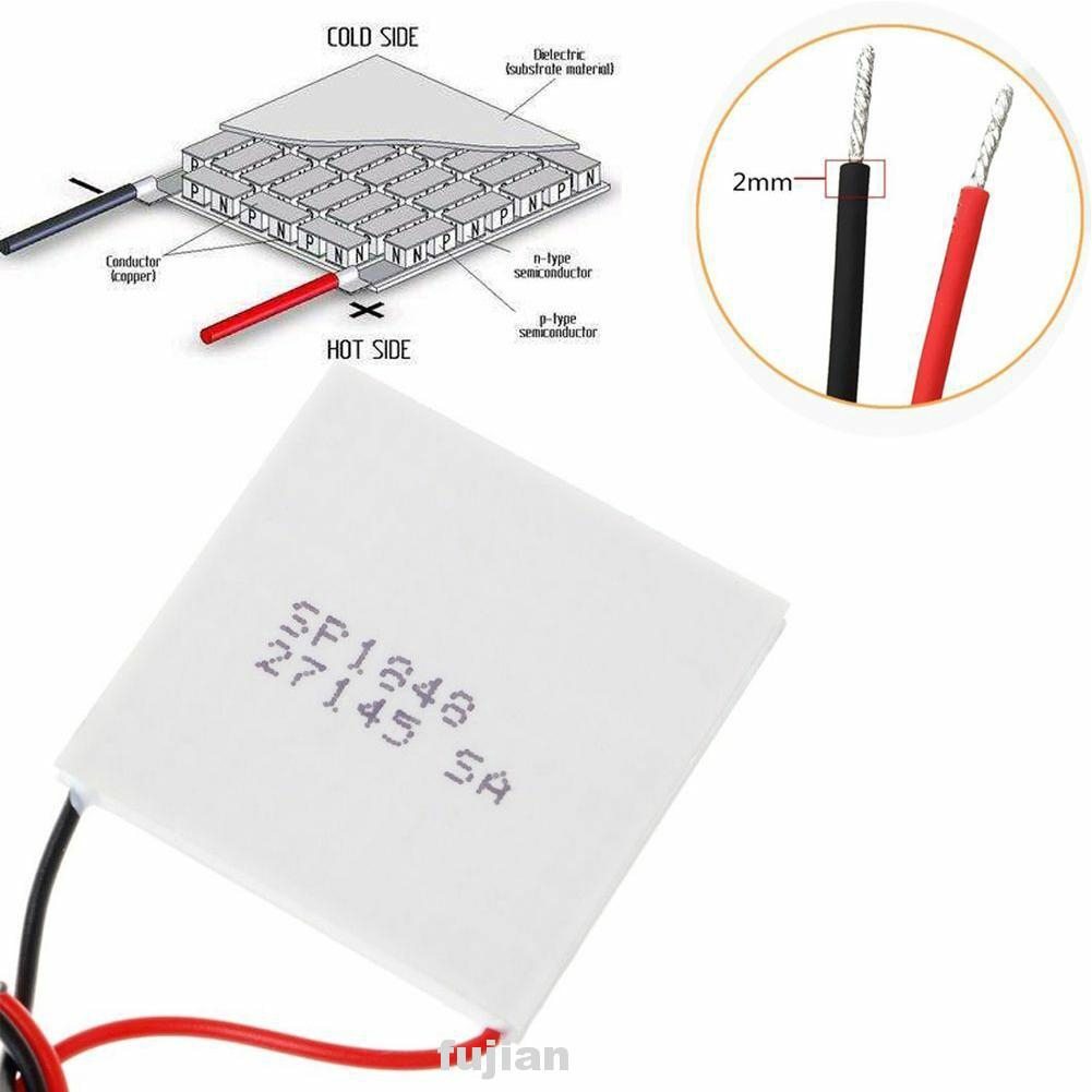 Thermoelectric Cooler,SP1848 27145 Plate Thermoelectric Power Peltier Module Temperature Resistance Heat Sink Cooling Peltier